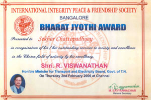 Bharat Jyothi Award