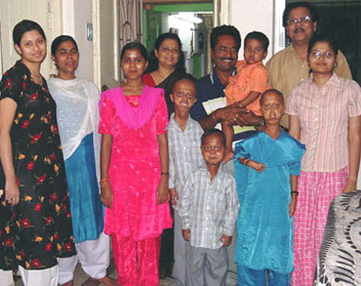 Mr. Sekhar Chattopadhyay, GS, SBDCH & his family members treats the HGPS family as a part of their family
